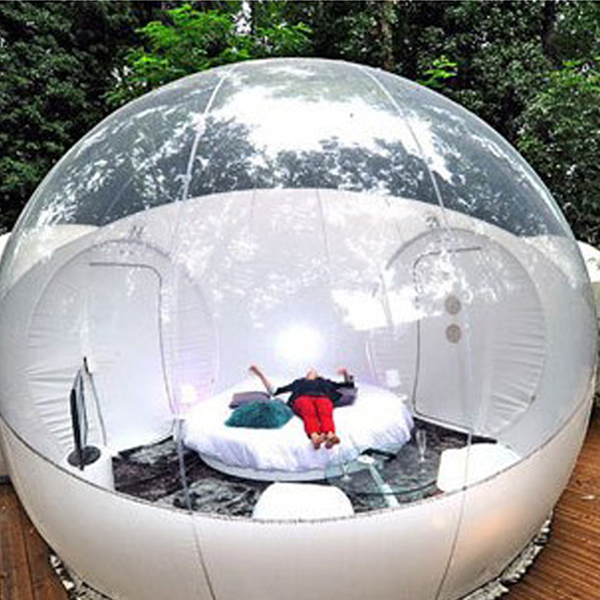 Commercial Transparent Inflatable Bubble Dome House <strong>Tent</strong>