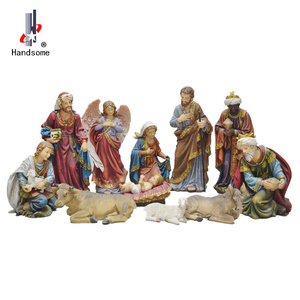 24 Inch Hot-Sell Resin Statue Christmas Nativity Set