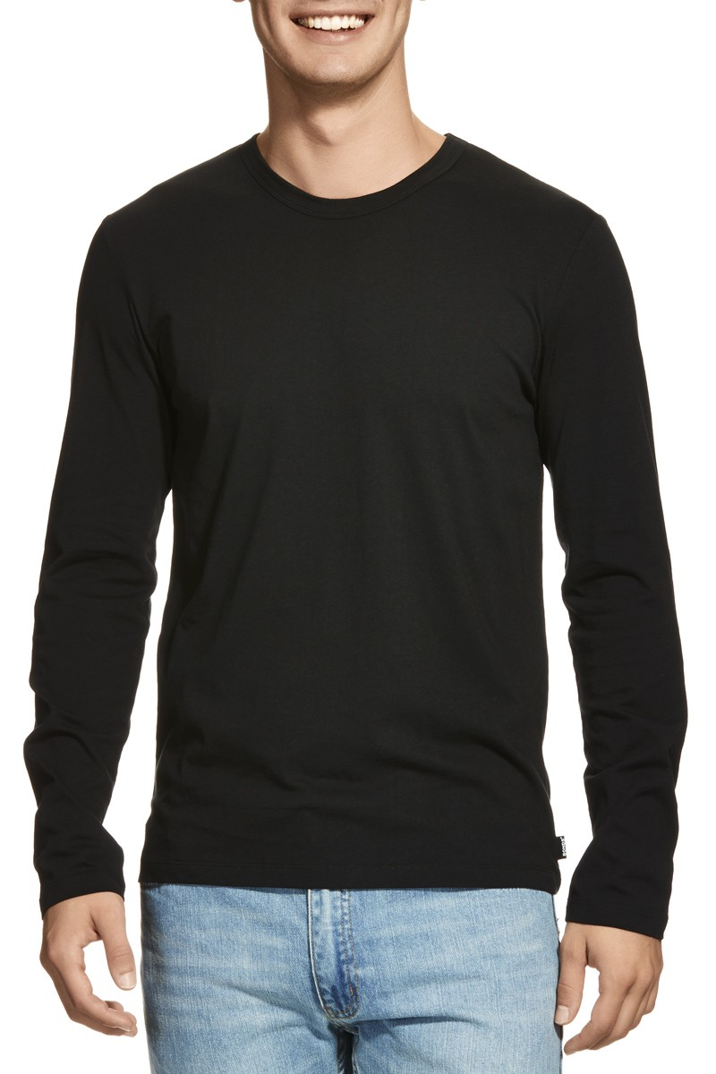 Blank Black Long Sleeve Men Shirt - Buy Long Sleeve Men Shirt,Men ...