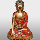 Outdoor garden statue images brass Sitting buddha