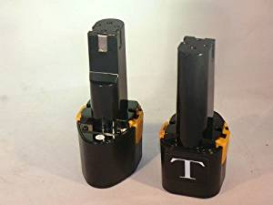 2X 9.6Volt 2.2Ah tools battery 48-11-0080 for MILWAUKEE 0218-1,0219-1,0319-1