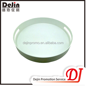 Non slip hard hot & cold serving tray