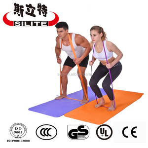 Gym equipment latex resistance power band ,resistance strength band ,pull up band