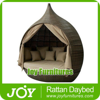 rattan pear daybed garden furniture
