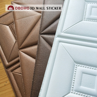 Interior & Exterior Waterproof Bathroom PVC 3D Wall Panel for Wall Decorative