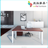 Factory Product Foshan Office Table/metal frame computer chair LB-01