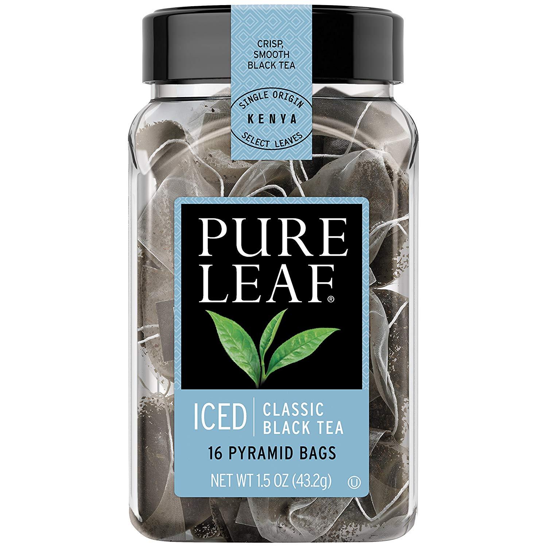 Pure Leaf Iced Tea Bags, Classic Black Tea, 16 count, Pack of 6
