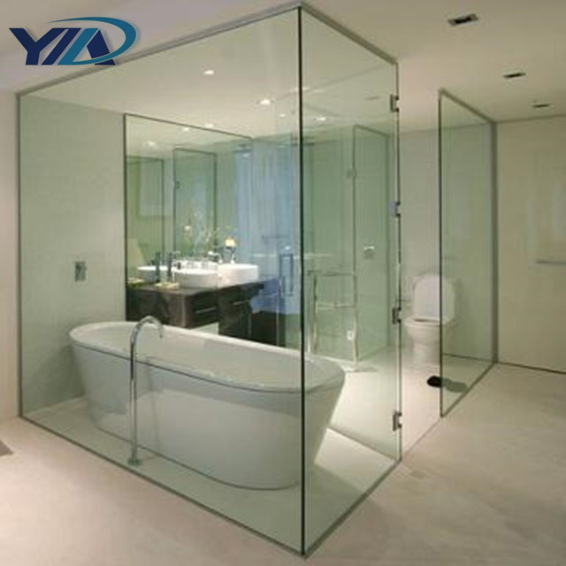 Glass Partition For Bathroom, Glass Partition For Bathroom Suppliers And  Manufacturers At Alibaba.com