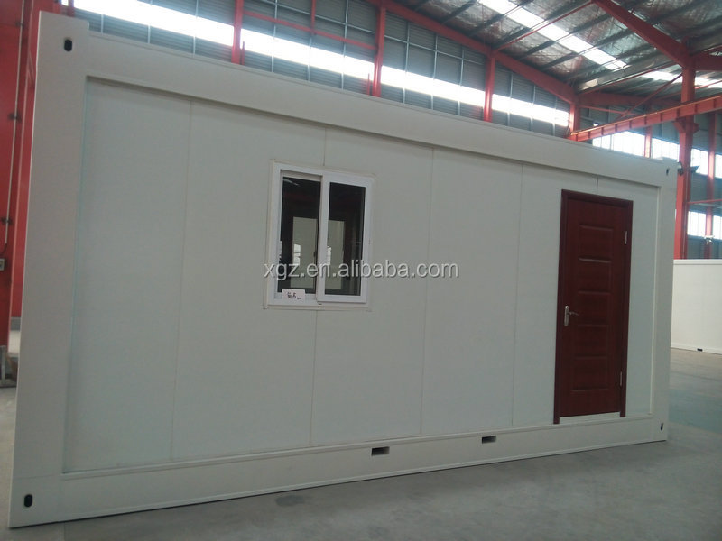 cheap modern design living 20ft container house in south africa