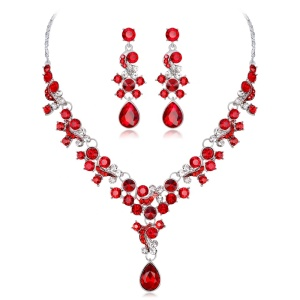 Christmas Gift Necklace suit set Shining Colour With Different Plating