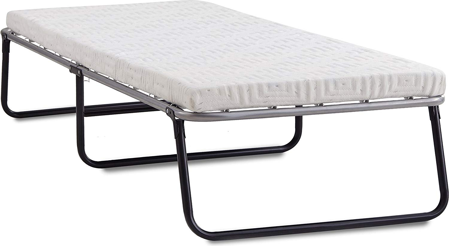 a53c8a43367ec Get Quotations · Broyhill Foldaway Guest Bed  Folding Steel Frame with Gel  Memory Foam Mattress
