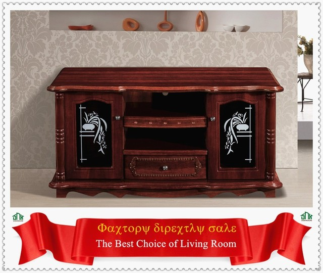 Source China Made Wooden Tv Stand Wooden Tv Table Top Swivel Tv