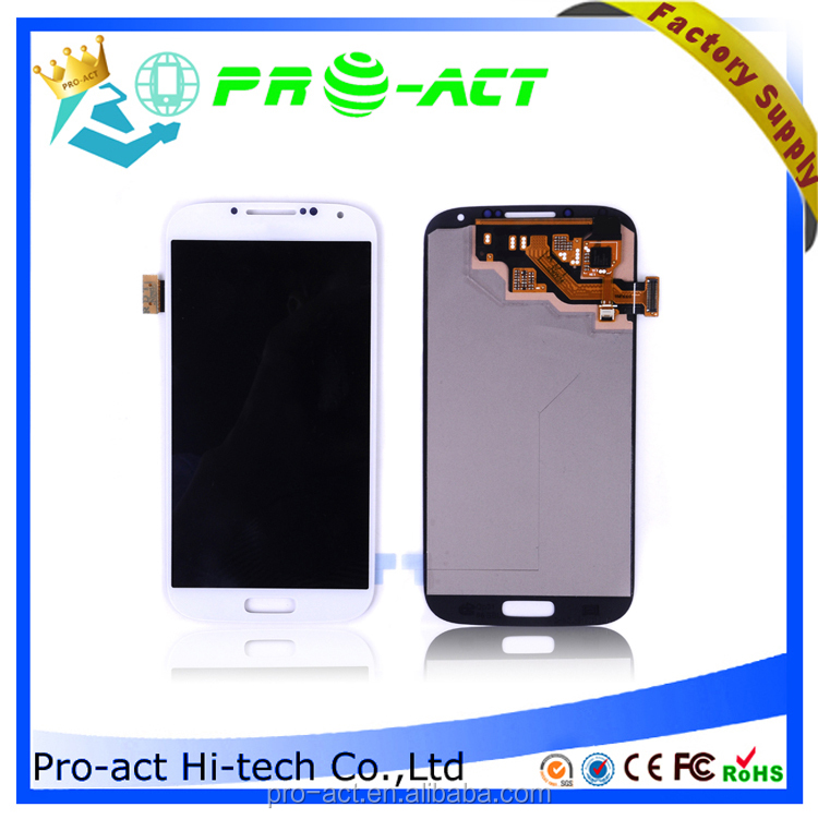 factory price new lcd digitizer cell phone parts For Samsung S4 safety packing