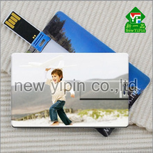 New Yipin Card custom Logo Pictures OEM USB Flash Drive 8 GB