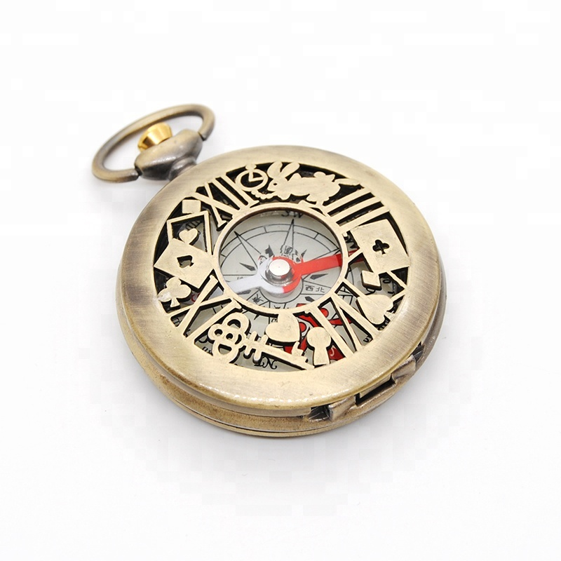OEM DESIGNED 골동품 pocket compass mini 구식 watch compass gift compass