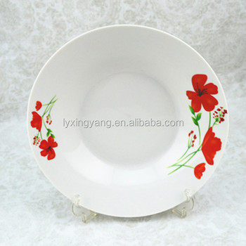 Decal Printing Ceramic Plate Plates Microwave Safe