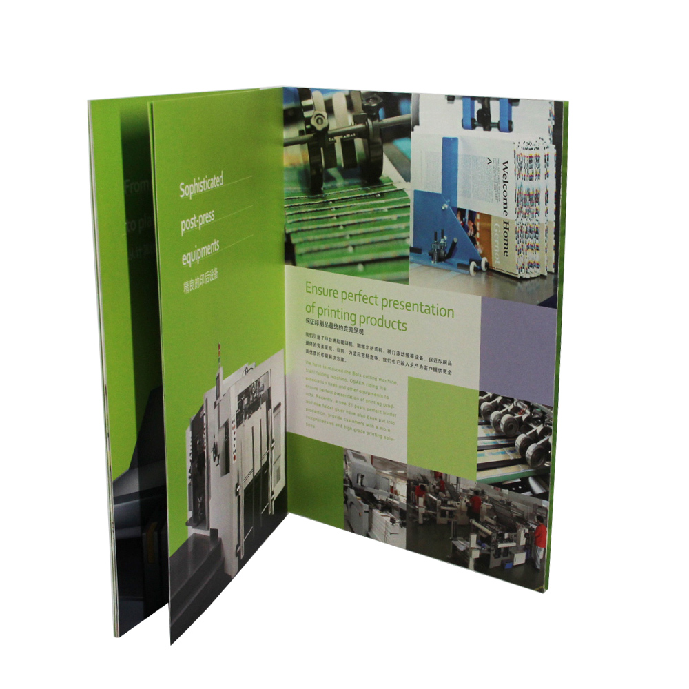 Booklet, brochure, poster, flyer, card, catalog printing company in china