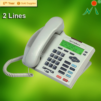 Landline telephone intercom phone with telephone for hotel/office
