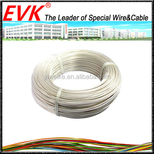 Heat resistant teflon transparent wire 16AWG