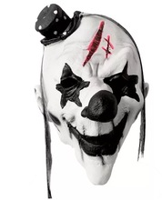 Halloween Clown Terroristische <span class=keywords><strong>Masker</strong></span> Creepy Scary Of Grappige Clown <span class=keywords><strong>Latex</strong></span> <span class=keywords><strong>Masker</strong></span> voor Kostuum Partij Decoratie