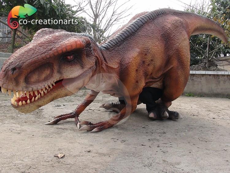 Flexible Adult Realistic Velociraptor Costume - Buy ...