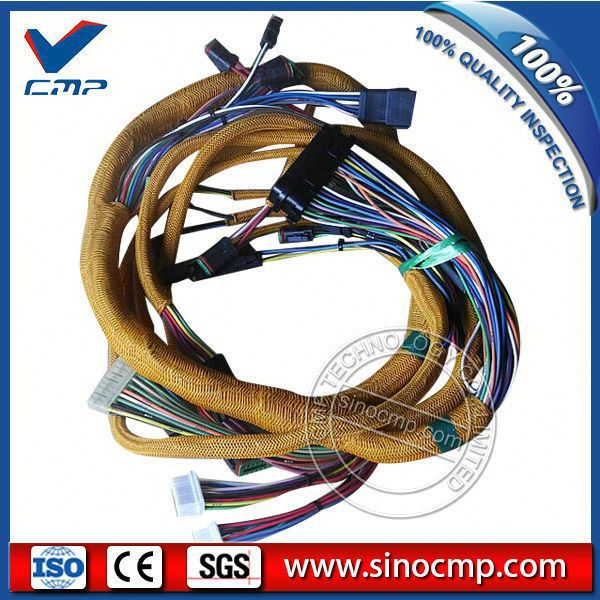 internal Excavator 320C cable wire harness