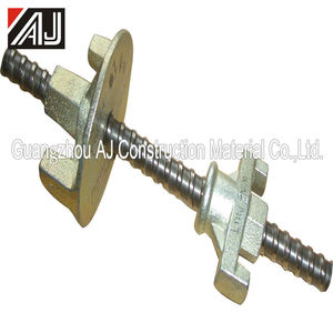 Durable steel nut clamp formwork tie rod wing nut for lock