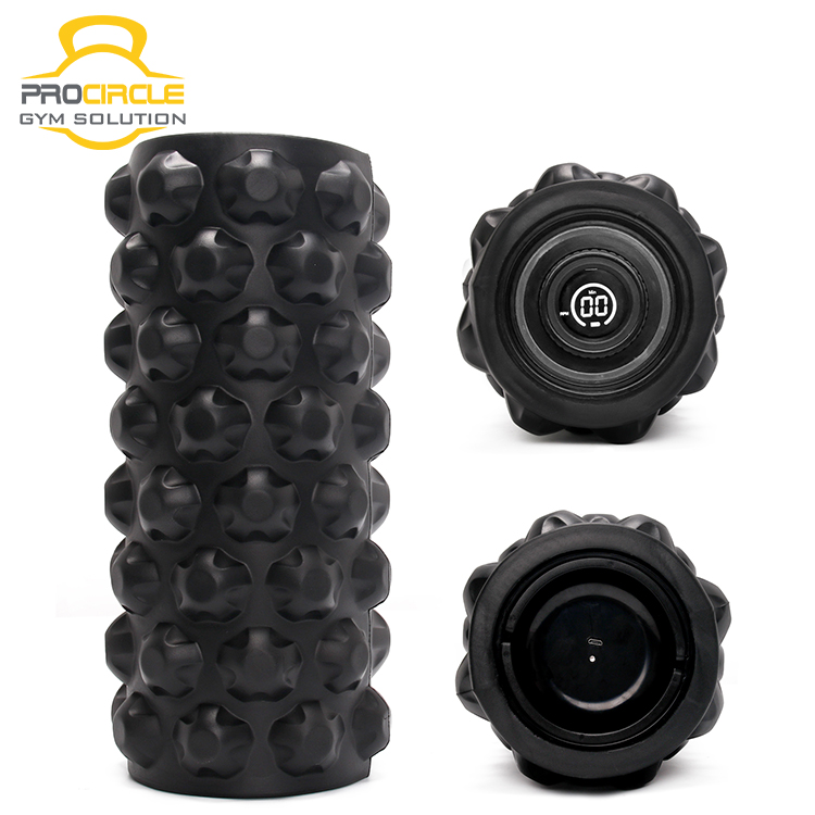 New Design LED Display Electric Vibrating Foam Roller