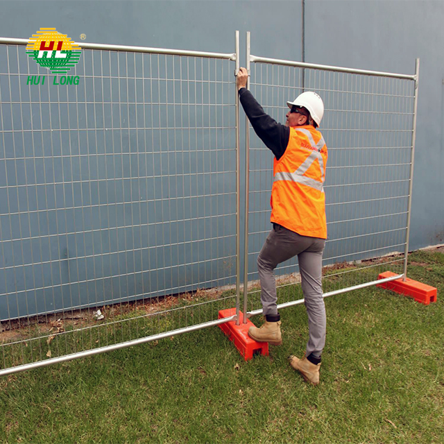 Temporary Privacy Fencing Movable Fence