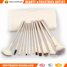 Wholesale professional makeup brush set cosmetic brush bag