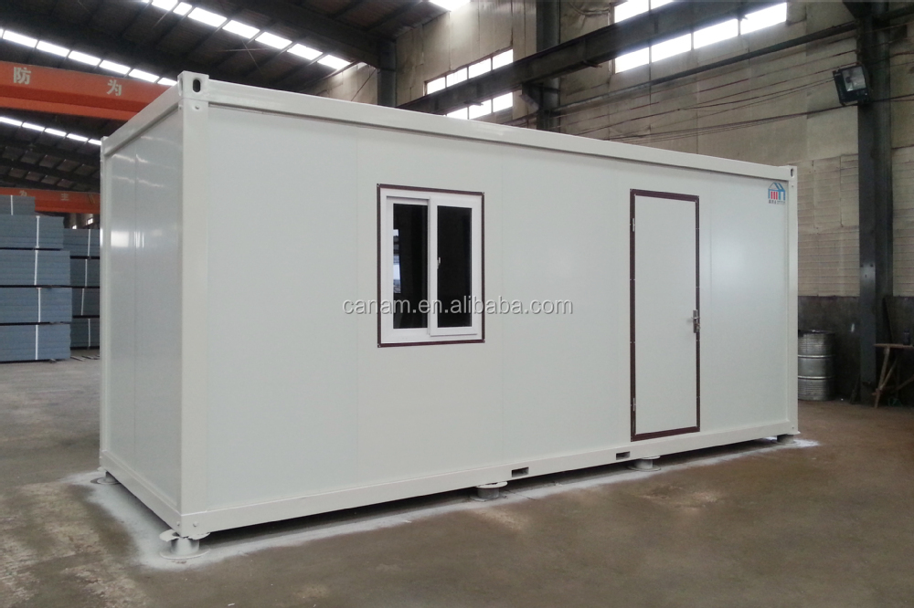 20ft flat pack container house, living room, office, easy assembly