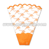 plastic decor mesh for flower sleeve
