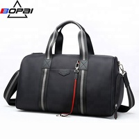 Custom large capacity suit travel bag carry on garment bag waterproof sport gym travel duffel bag with shoe compartment