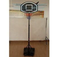 Indoor&Outdoor Entertainment Portable movable basketball tand,Wholesale cheap basketball hoop