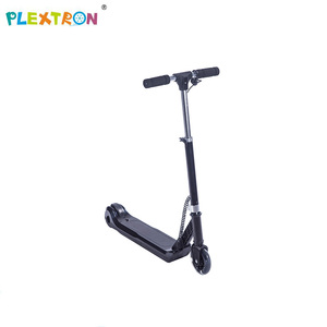 kids foot pedal electric kick scooter