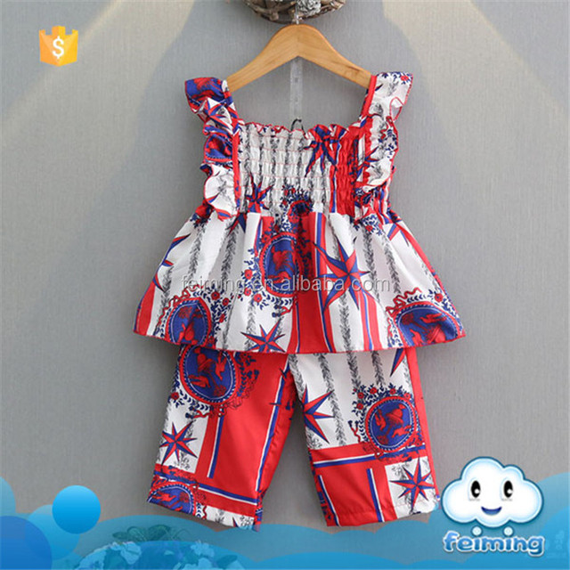 07b49887ad5c SS-912G baby clothes 2PCS kids cotton frocks design cute little girl  clothes toddler outfits
