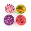 Crystal Glitter Putty Toys Plastic Pearl Decoration Slime DIY Colorful Slime