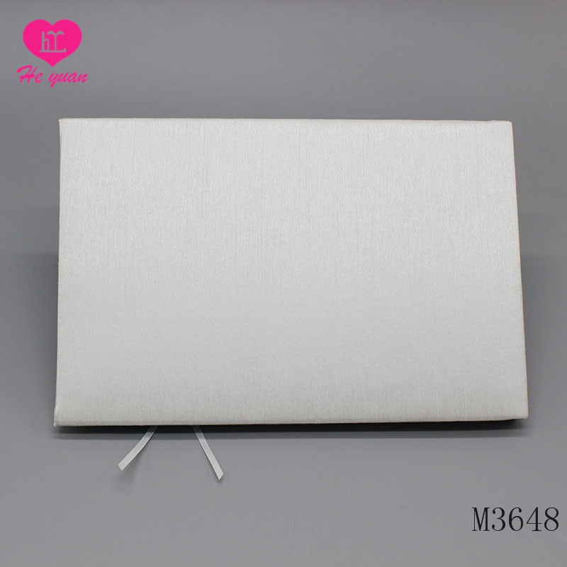 M3648 Guest Book Set Lovely Lace and Satin for wedding wedding guest book