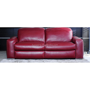 Red Leather Sleeper Sofa, Red Leather Sleeper Sofa Suppliers ...