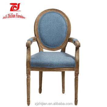 Italian Luxury Furniture Luis XV Arm Chair Classical Chair ZJ A14