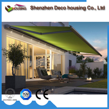 wholesale aluminum frame electric balcony/patio retractable awning prices