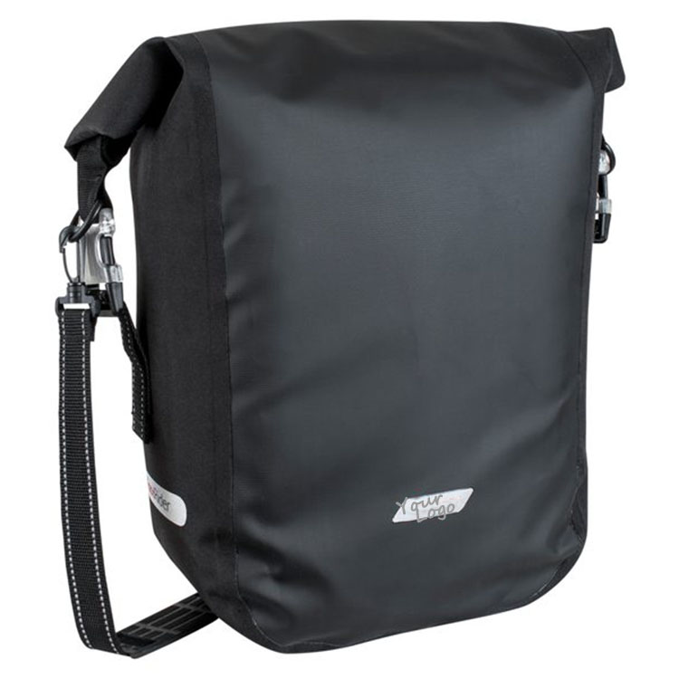 Durable 100% Waterproof Single Pannier Bag Bike Front And Back Bag