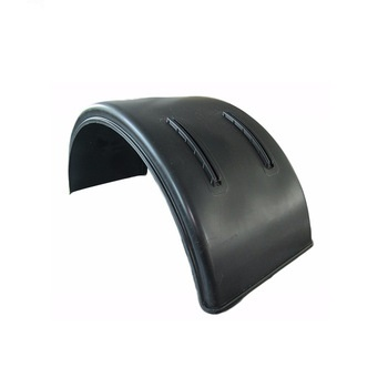 semi truck trailer plastic single tyre fenders