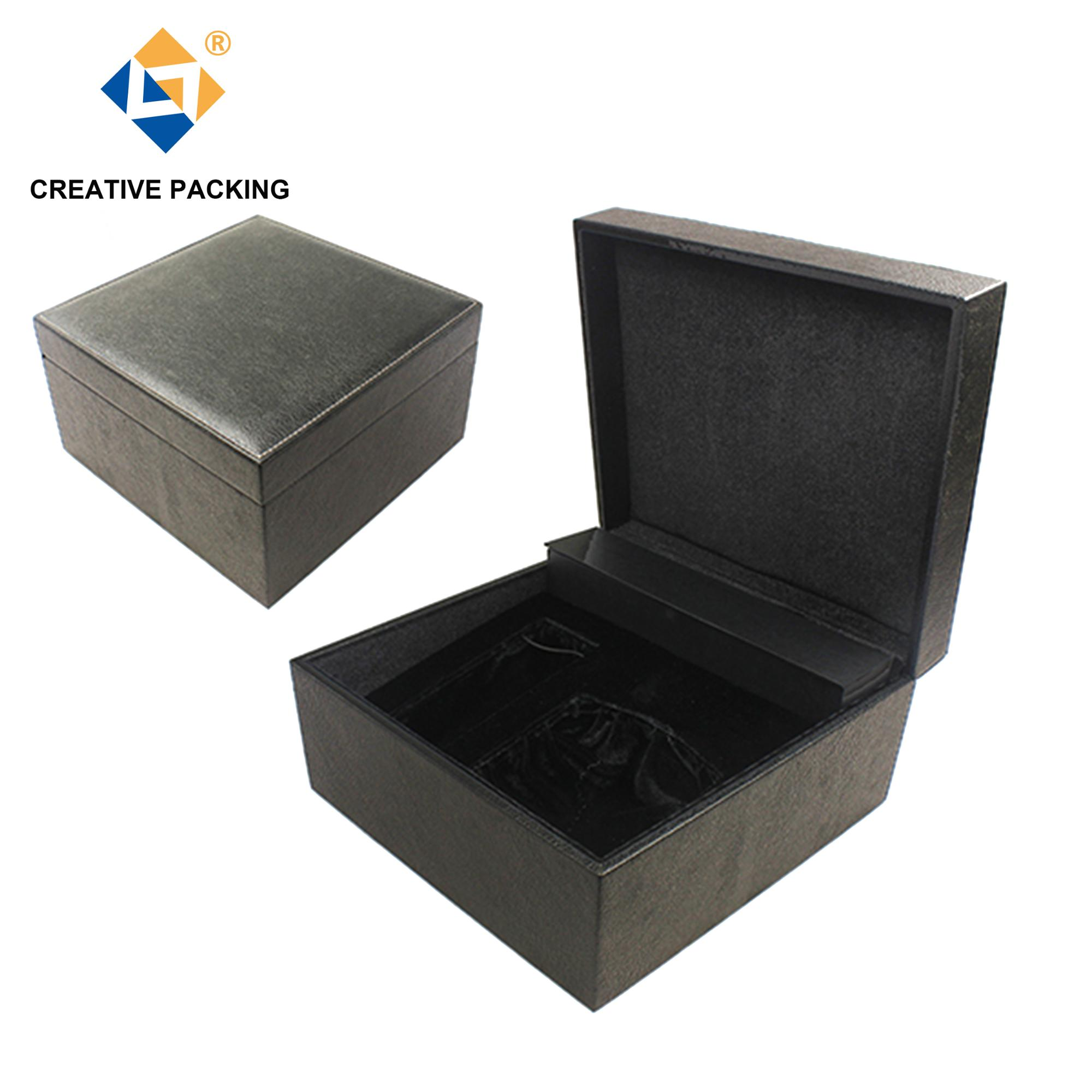 Arabic Custom Logo High Quality Leather Perfume Boxes