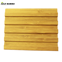 100% Solid 3d Bamboo Wall Panels Decorative Bamboo Panel for Wall