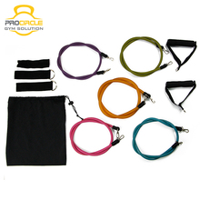 <span class=keywords><strong>Übung</strong></span> Widerstand Bands Set Fitness Widerstand Bands Set mit 5 Fitness Rohre, Griffe, Tür Anker