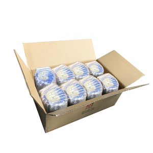 SGS verified PA&PE air column bag packaging custom packing bag air packing bags bubble plastic package for milk powder can