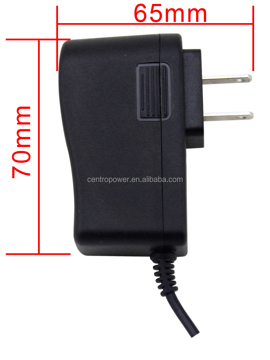 Cctv Power Adaptor 12v Dc 500ma With Wall Plug Ul Ce Rohs ...