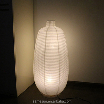 Eco Friendly Paper Floor Lamp For
