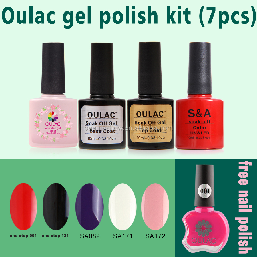 Oulac 10ml One Step Uv Nail Gel,Top Selling Gel Nails Kit - Buy Uv ...